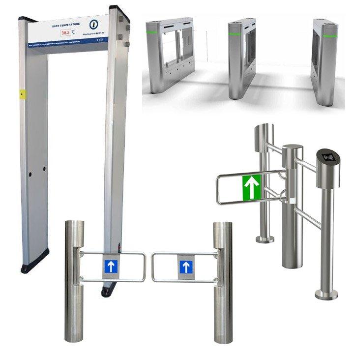 Walk Through Temperature Scanner/Access Control